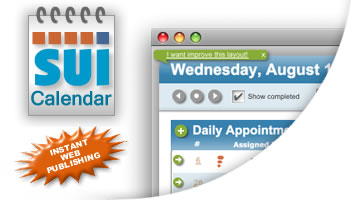 SUI Calendar 2.1 available now